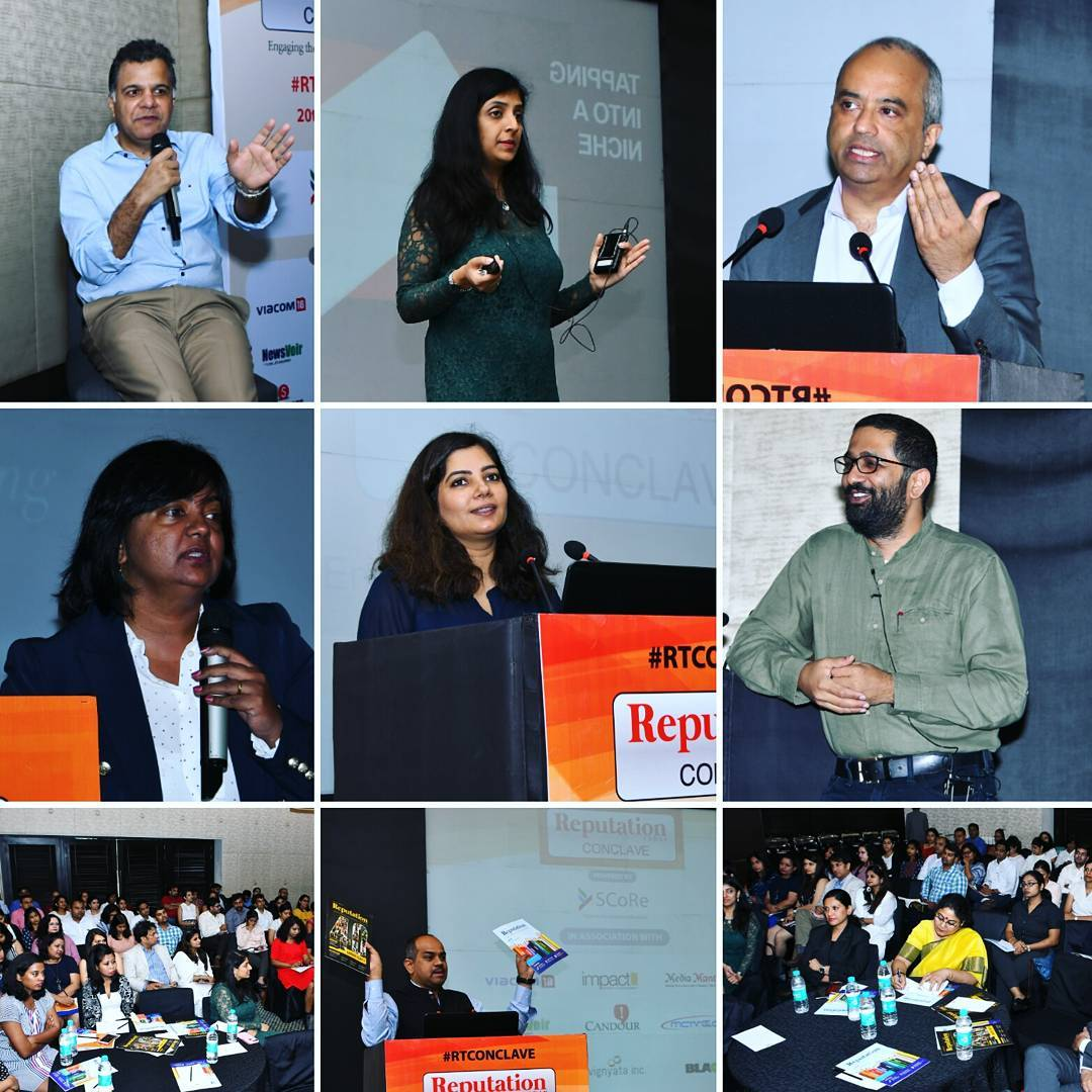 Reputation Today Conclave Bangalore Was powered by School of Communications & Reputation - India's leading media institute dedicated to study of public relations