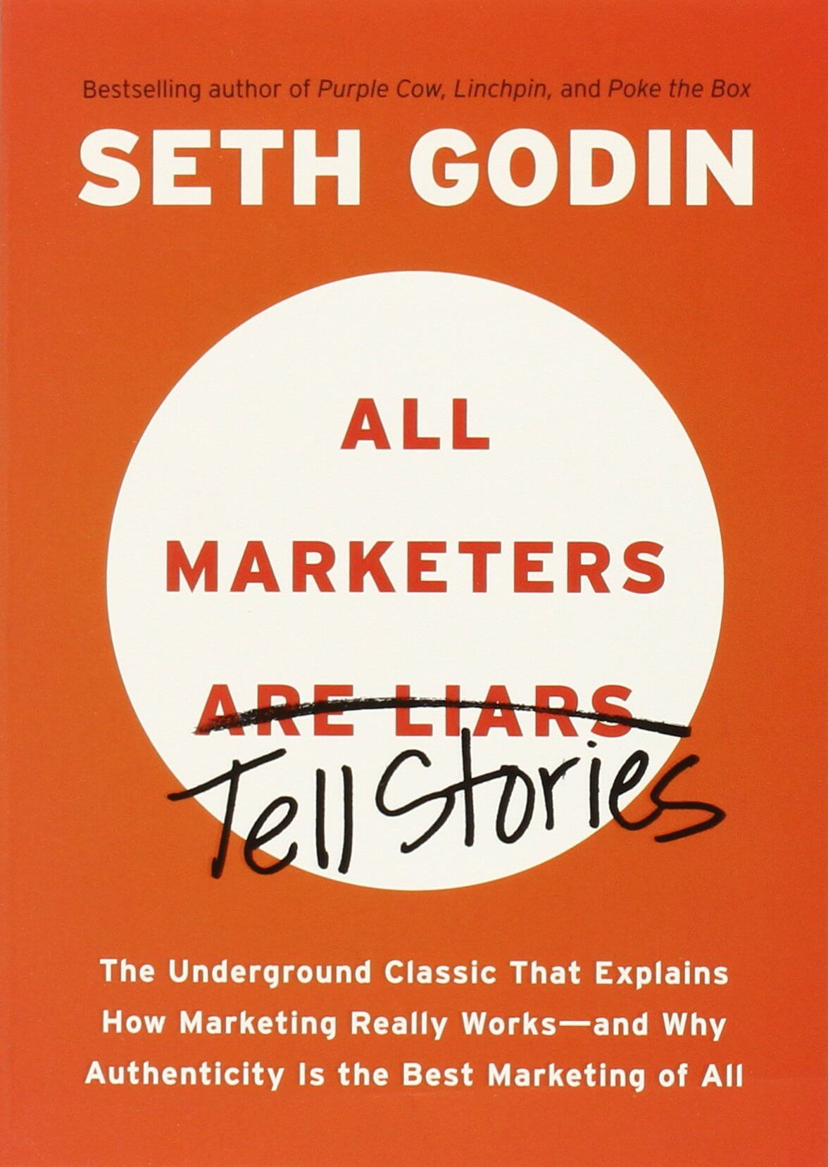 Book Review:  All Marketers are Liars Tell Stories