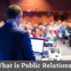 What is Public Relations