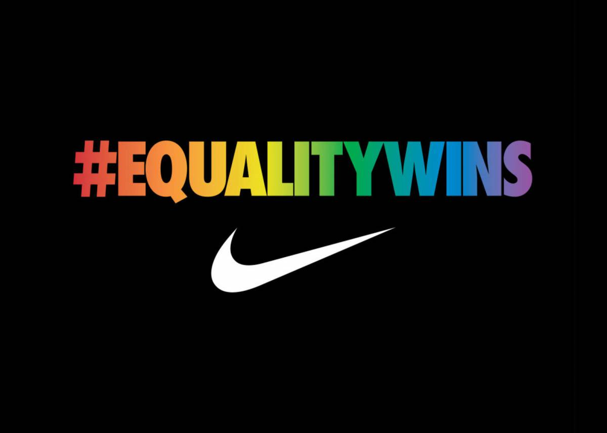 Campaign on Equality by Nike