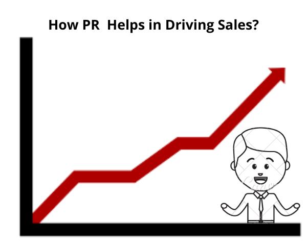 PR drive sales