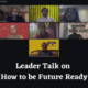 How to be future ready