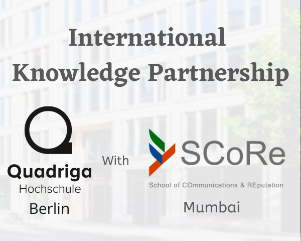 SCoRe partners with Quadriga University