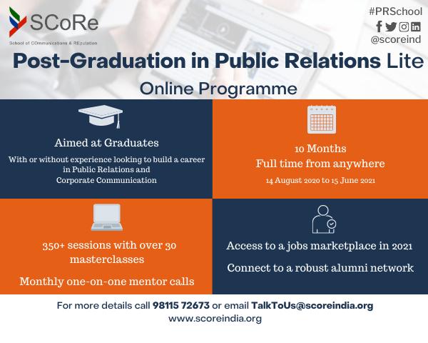 Online Public Relations Certificate